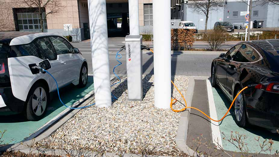 Charging stations for electric vehicles